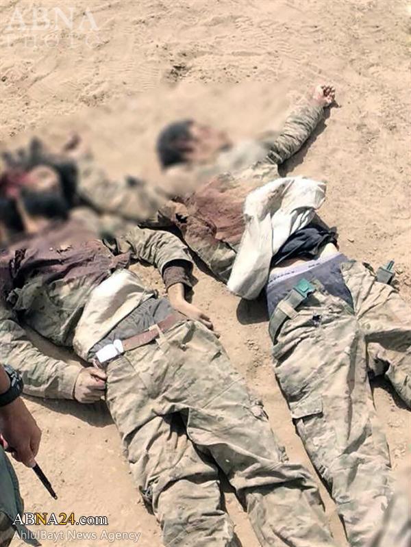 """گزارش تصویری/ خیز بلند """"نُجَباء"""" سوی پایگاه مرزی داعش در عراق"""
