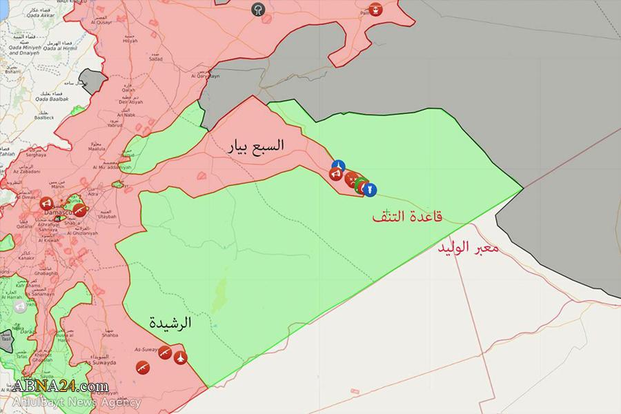 اعلامیه آمریکایی برای ارتش سوریه: فوراً خارج شوید! + عکس