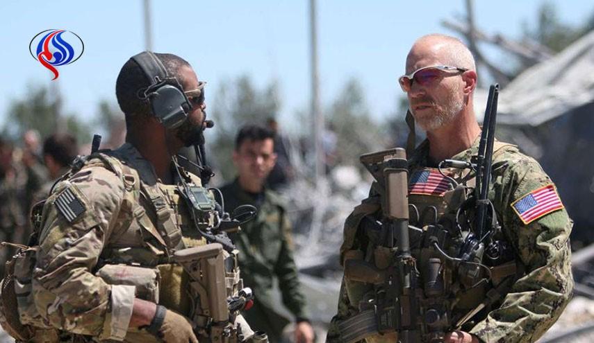 عملیات نیروهای زمینی آمریکا در شرق حمص سوریه