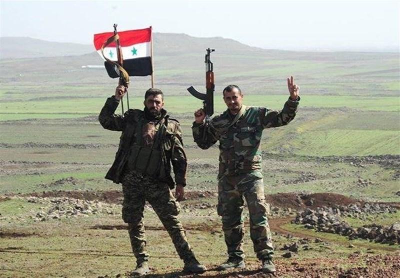 سه شهرک راهبردی در جنوب استان رقه آزاد شد/ السخنه مسیر بعدی نیروهای جبهه مقاومت + نقشه