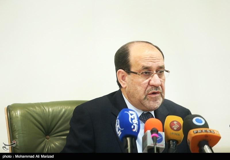 مالکی: اجازه تاسیس پایگاههای نظامی در عراق را نمیدهیم/با سلاحهای ایران در برابر داعش مقاومت کردیم