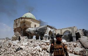 نفس تروریستها در موصل قدیم گرفته شد/ شهر موصل در آستانه آزادی کامل +نقشه میدانی
