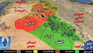 تحولات عراق از روزهای سخت سال ۹۳ تا تابستان آرام ۹۶ ؛ چه مناطقی از عراق همچنان در اشغال داعش است؟ + نقشه میدانی