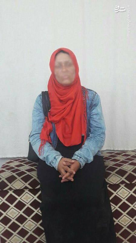 ماجرای بازداشت خانم وزیر داعشی در جنوب کرکوک+عکس