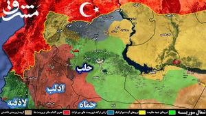 نیروهای جبهه مقاومت به ۷.۵ کیلومتری دیرالزور رسیدند+ نقشه میدانی