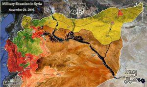 جزییات اجرای طرح تجزیه گام به گام سوریه/ آمریکا کار ناتمام داعش را با کُردها تمام میکند؟ +نقشه میدانی