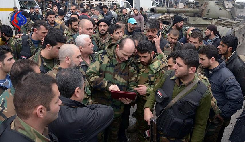 """تحویل """"توپ های الکترونیکی"""" به ارتش سوریه"""