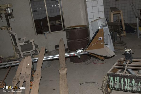 کشف کارگاه ساخت پهپاد داعش در موصل + عکس