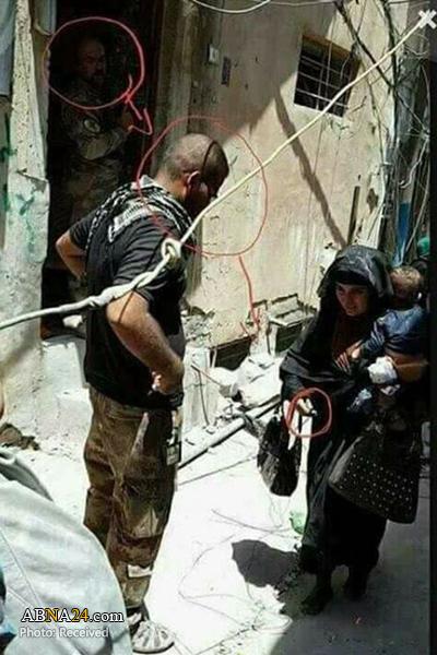 زن انتحاری داعش کودک خردسال خودش را نیز به کشتن داد + عکس
