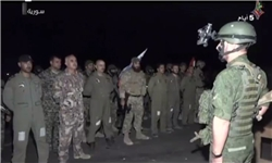 هلیبرن کماندوهای سوری پشت خطوط داعش +عکس