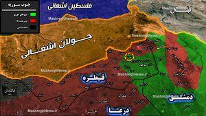 تکرار تجربه موفق شمال در جنوب؛ آمریکا چند پایگاه نظامی در جنوب سوریه دارد؟ + نقشه میدانی و عکس