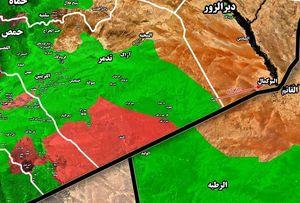 نیروهای سوری وارد مزارع غربی شهر السخنه شدند+ نقشه میدانی