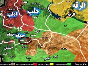 یک گام دیگر برای تامین امنیت دروازه ورودی مرکز استان حماه برداشته شد؛ منطقه راهبردی جب المزاریب در شرق سلمیه آزاد شد + نقشه میدانی