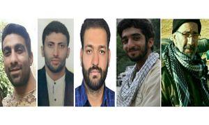 تقدیم ۵ شهید مدافع حرم ایرانی در روزهای اخیر