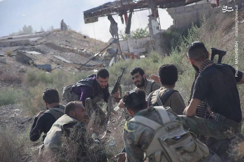 عکس/ مجاهدت نیروهای مقاومت در غوطه شرقی