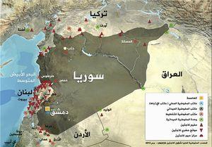 نیروهای مقاومت پس از ۵ سال به مرزهای اردن رسیدند+ نقشه میدانی