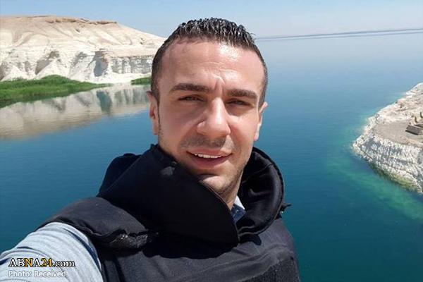 خبرنگار مشهور سوریه در شرق حماه زخمی شد + عکس