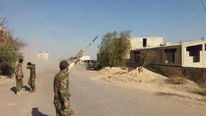 ادامه جنگ زیر زمینی در غوطه شرقی دمشق؛ ۵۰ تروریست در زیر آوار مدفون شدند؛ نیروهای مقاومت به منطقه حرمله رسیدند + نقشه میدانی