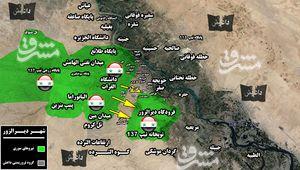 اعزام نیروهای تازه نفس برای شکست محاصره فرودگاه دیرالزور/ حملات سنگین داعش برای محاصره مجدد شهر دیرالزور ناکام ماند + نقشه میدانی و تصاویر
