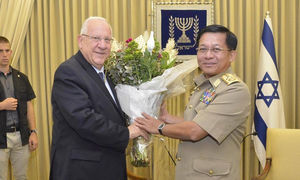 اسراییل بازیگر اول پشت پرده کشتار مسلمانان میانمار + سند