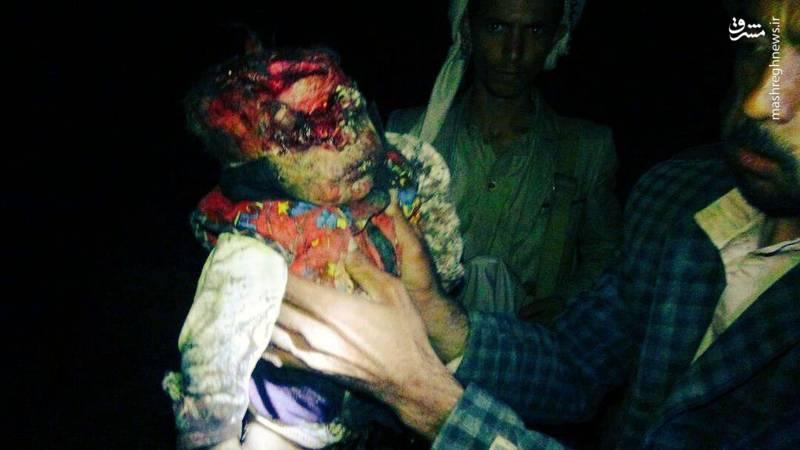 عکس/قتل عام خانواده ۱۲ نفره یمنی (+۱۸)