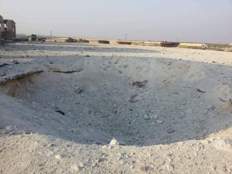 پادگان آموزشی جبهه النصره با خاک یکسان شد+تصاویر