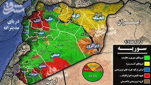 آخرین تحولات سوریه ۵ ماه پس از شروع عملیات والفجر +نقشه میدانی