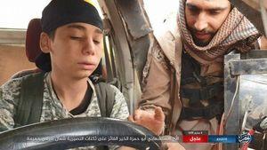 عکس/کودک انتحاری داعش لحظاتی قبل از انفجار
