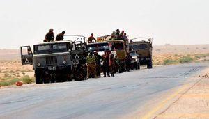 نیروهای سوری و مقاومت به ۱۵ کیلومتری ایستگاه بزرگ نفتی پمپاژ دوم رسیدند + نقشه میدانی