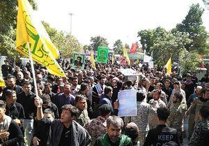بدرقه سه شهید فاطمیون در تهران +عکس