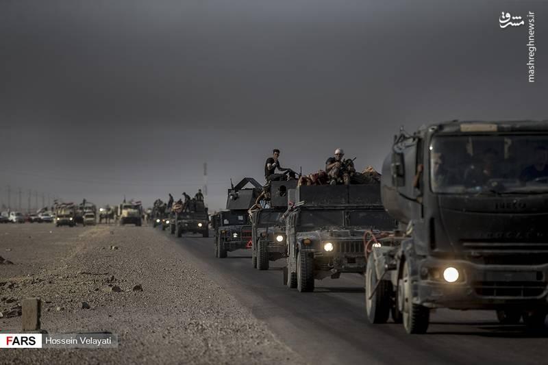 عکس/آغاز مرحله دوم عملیات آزادسازی الحویجه عراق