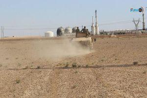 آخرین ایستگاه بزرگ نفتی تحت اشغال داعش در آستانه آزادی + نقشه میدانی