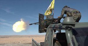 مناطق تحت تصرف نیروهای کُرد در شهر رقه بدون مقاومت داعش به ۹۳ درصد افزایش یافت + نقشه میدانی