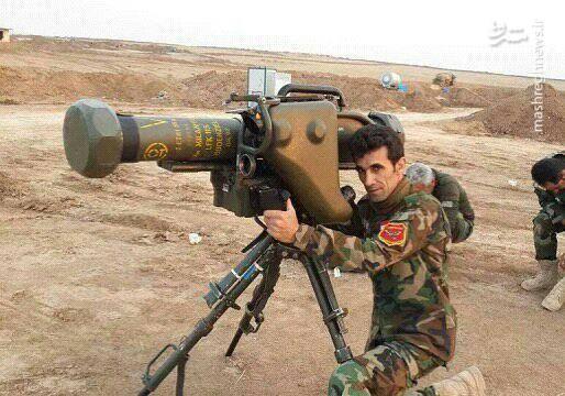 عکس/ سلاحهایی که قرار بود بر علیه داعش استفاده شود