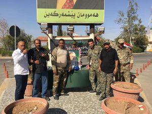 ضربه مهلک نیروهای عراقی به تجزیه طلبان کرد در مرزهای مشترک کرکوک و اربیل + عکس و نقشه میدانی