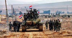 طومار عملیات احرار الشام در حومه دمشق در هم پیچیده شد