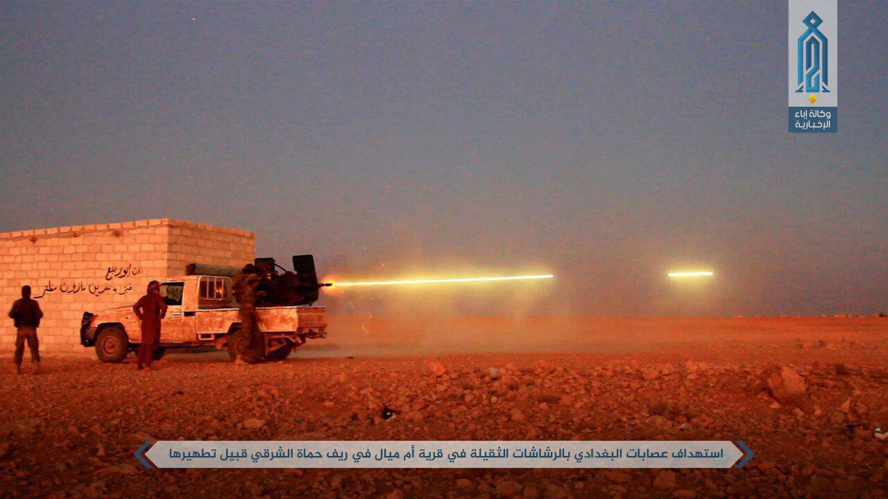 تشدید درگیریها میان جبهه النصره و داعش در شمال شرق حماه+تصاویر