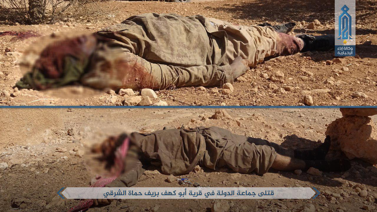 دفع هجوم داعش به شمال شرقی حماه توسط النصره+تصاویر