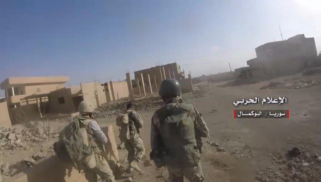 گزارش میدانی از آخرین تحولات عملیات آزادسازی البوکمال