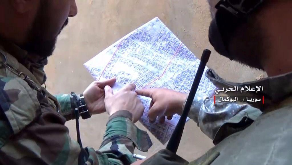 تصاویری از عملیات آزادسازی شهر البوکمال