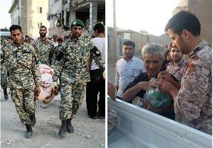 تشکر مردم از نیروهای مسلح با هشتگ #ارتش_سپاه_مچکریم + عکس