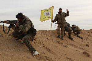 آخرین تحولات میدانی شرق فرات پس از ۷۹ روز عملیات نیروهای متحد آمریکا؛ نیروهای کُرد با هماهنگی داعش به ۶ کیلومتری مرزهای مشترک با عراق رسیدند + نقشه میدانی و تصاویر