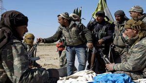 توافق داعش و مزدوران آمریکا در دیرالزور +عکس