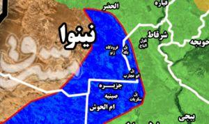 فقط ۱۵هزار و ۸۵۰ کیلومتر مربع تا آزادسازی عراق از تکفیر و تروریسم/ نقشه میدانی آخرین مناطق تحت اشغال داعش در عراق +تصاویر
