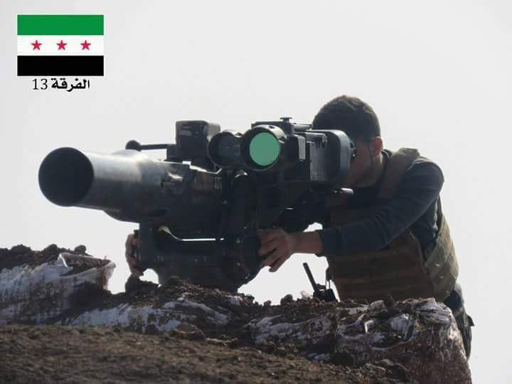 هلاکت مشهورترین کاربر تاو تروریستها در حماه سوریه+تصاویر