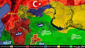 آزادی ۹۵ درصد از مناطق آلوده در مثلث « حماه ، ادلب و حلب»/ ۱۲۰ کیلومتر مربع تا تامین امنیت کامل مسیر دمشق – حلب