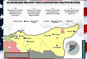 نقشه «ب» آمریکا برای سوریه: اشغال یکسوم شمالی این کشور+ نقشه