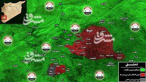 از دروغ اختلاف در جبهه مقاومت تا تکرار سناریو حمله شیمیایی به حومه شرقی دمشق/ جنایتهای تروریستها در غوطه شرقی که بیبیسی سانسور میکند/ ۳۵۶ حمله خمپاره ای به دمشق و شهادت ۷۹ غیرنظامی از ابتدای ۲۰۱۸ + تصاویر و نقشه میدانی