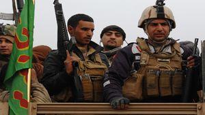 پاکسازی ۱۲۰ کیلومتر مربع از صحرای الانبار از لوث داعش/ انهدام پایگاه داعش در شرق دیرالزور در عملیات بسیج مردمی عراق +نقشه میدانی و تصاویر