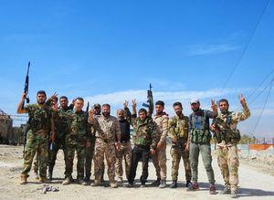 قلب غوطه شرقی دمشق آزاد شد؛ تسلط نیروهای سوری بر شهرک راهبردی بیت نائم+ نقشه میدانی و تصاویر